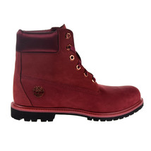 Timberland 6' Waterproof Women's Boot Burgundy TB0A1SC7 - $169.95