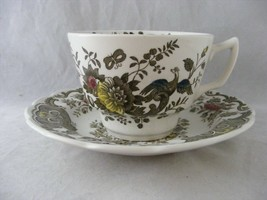 Ridgway Staffordshire Windsor Cup & Saucer Multi-color - $7.95