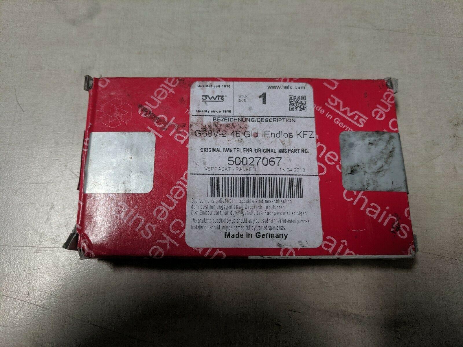 iwis Engine Timing Chain 50027067G68V246E 99610517053 for  Porsche