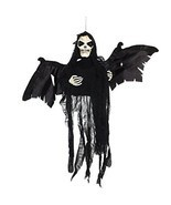 Halloween Decoration Hanging Floating Skeleton Ghost Shaking & Making So... - $676,38 MXN