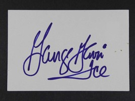 "George Gervin Signed Autographed ""Ice"" 3x5 Index Card - $7.95"