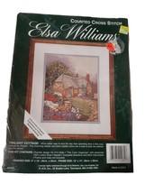 Sealed Elsa Williams Counted Cross Stitch Kit Twilight Cottage 02081 USA - $17.45