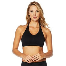 Yummie Seamless Convertible Halter Bra with Removable Pads M/L - $12.86