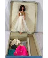 Vintage 1961 Barbie Doll Case Blue Vinyl By Ponytail Barbie Taiwan Plus ... - $93.76