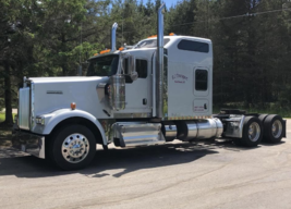 2013 KENWORTH W900L For Sale In West Branch, Michigan 48661 image 1