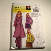 Butterick Sewing Pattern 5262 JACKET Coat XXL 1X 2X 3X 4X 5X 6X New Pack... - $12.82