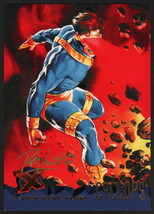 Dave DeVries SIGNED X-Men Art Trading Card ~ Cyclops 1995 Fleer Ultra - $16.82