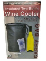 Insulated Two Bottle (750ml) Wine Cooler by Argyle Wine & Bar Accessories - $38.44