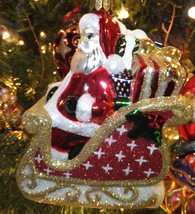 Waterford Holiday Heirlooms 2013 Coming to Town Santa Ornament 2013 New ... - $74.25