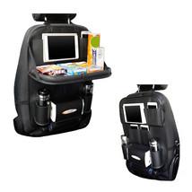 Car Backseat Organizer Table Tray For Travel Road Trip Snack 10 Pocket H... - $712,58 MXN
