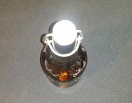 Vintage Grolsch Lager Brown Glass Beer Bottle with Porcelain Swing Top AB 837 image 2