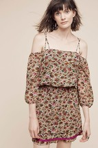New Anthropologie Everett OFF-THE-SHOULDER Dress By Floreat 6P - $55.44