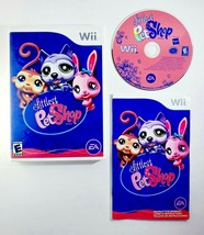 Littlest Pet Shop LPS (Nintendo Wii, 2008) Complete with Manual - Free S... - $9.45