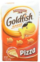 Pepperidge Farm Goldfish, Pizza, 6.6-ounce bag (pack of 8) - $35.99