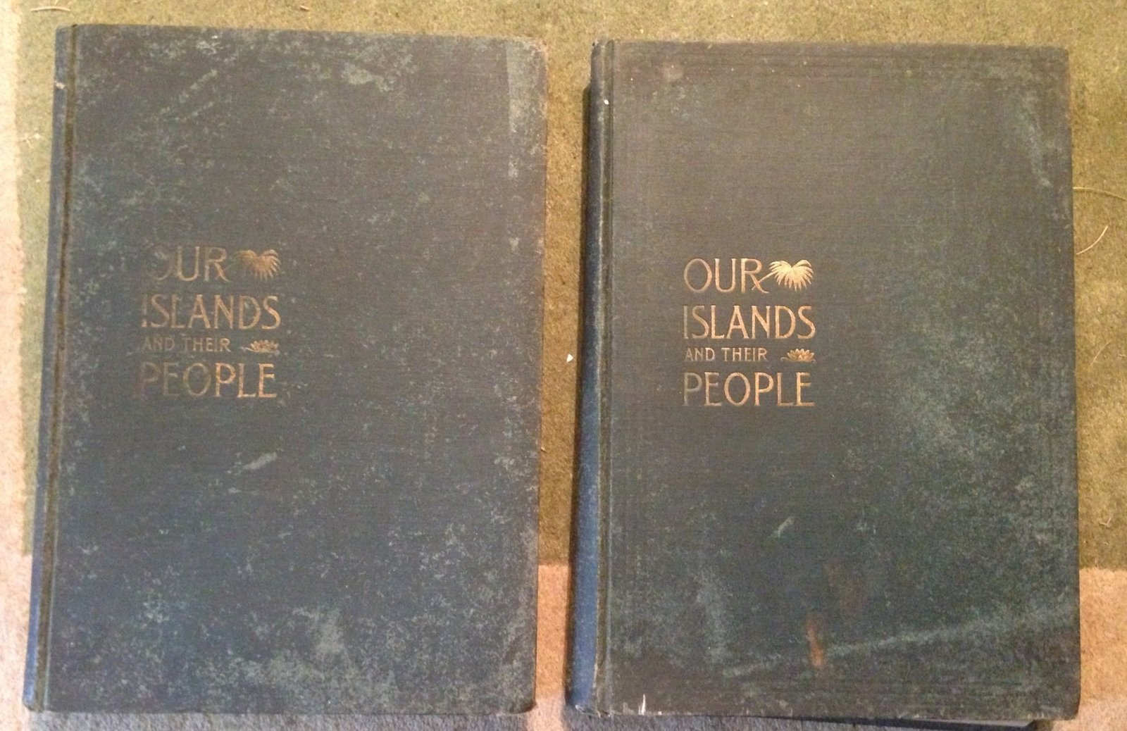 Our Islands and Their People as Seen with Camera and Pencil [2 volumes] [Hardcov