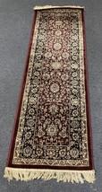 Indian Handcrafted Runner - Kashan Design Rug - Premium Carpet - Kashmir... - $99.99