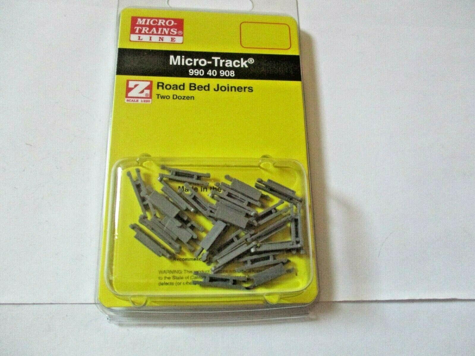 Micro-Trains Micro-Track #99040909 Rail Joiners Two Dozen Z-Scale