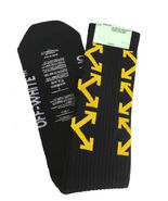 HOT! Off White Socks Arrows C/O Virgil Abloh Long Unisex Striped BlackARROW - $10.77+