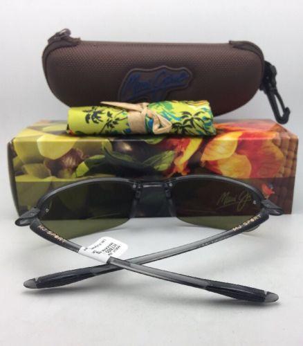 Maui Jim Lunettes de Soleil Makaha Lecteur + 2.0 Ht 805-11 20 Teinté Gris W /