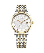 Comtex Men's Watches Luxury Two-Tone Bangle Watch Design Stainless Steel... - $27.96