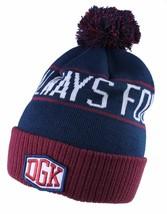 Dirty Ghetto Kids DGK Navy Burgundy Always Four-20 Four-Twenty Pom Beanie Hat