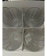 Set Of 4 Rosenthal BLOSSOM Lead Crystal Germany Highball Glasses - $74.79