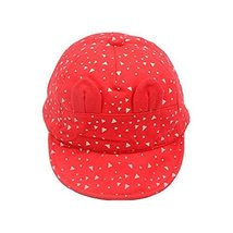 Baby Hat Sunscreen Breathable Baby Cuff Cotton Baseball Cap Visor Cap image 1