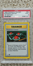 Pokemon Center 85/102 1st Edition Base Set PSA 9 1999 Pokemon Game Shadowless - $33.99