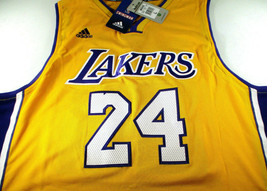 KOBE BRYANT / NBA HALL OF FAME / AUTOGRAPHED L.A. LAKERS PRO STYLE JERSEY / COA image 2