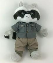 "Great Wolf Lodge Wiley Raccoon Outfit 16"" Plush Stuffed Toy Fiesta Zippe... - $21.73"