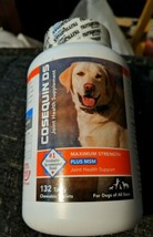 Cosequin DS Max Strength MSM - Dogs All Sizes (132 Chewable Tablet) EXP ... - $19.67
