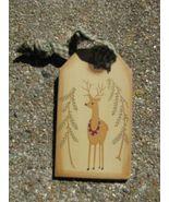 31617R- Reindeer Gift Tag  - $1.95