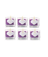 Lot of 6 White Barn Lavender Vanilla Scented Mini Candles with Lids 1.3 ... - $26.99