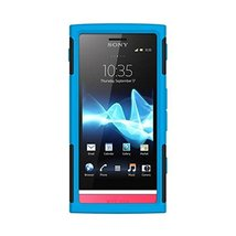 Trident Case AEGIS Protective for Sony XPERIA U - Retail Packaging - Blue - $19.95