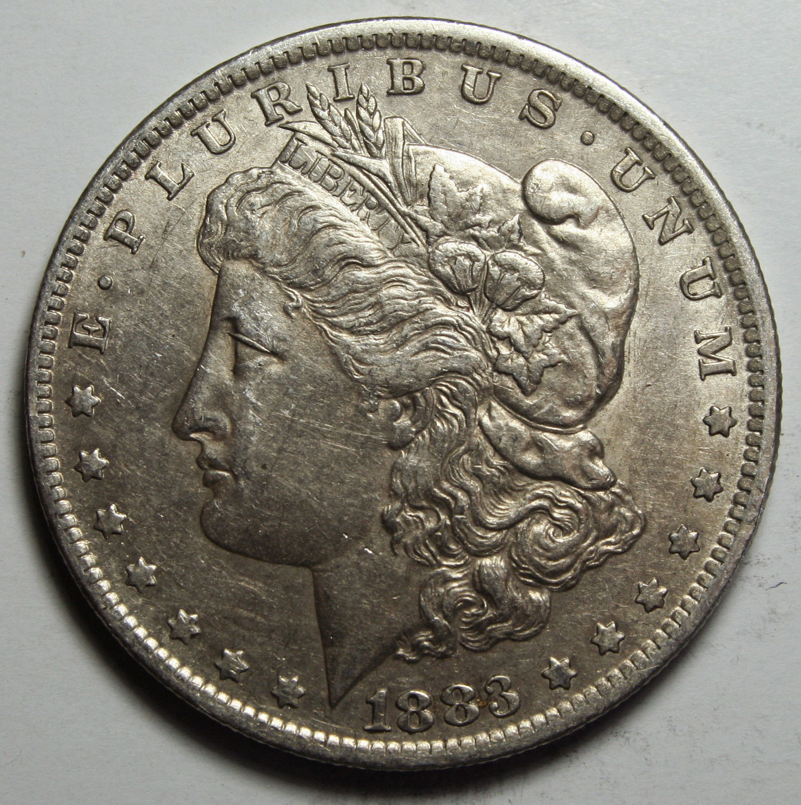 1883O MORGAN SILVER DOLLAR COIN Lot# D 21