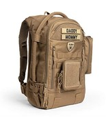TBG - Mens Tactical Diaper Bag Backpack SET - Changing mat, Dump & Wipes... - $338.30