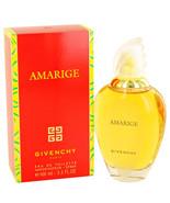 AMARIGE by Givenchy Eau De Toilette Spray 3.4 o... - $45.00