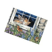 Dimensions Gold Collection Counted Cross Stitch Kit, Love, 18 Count Aida, 7'' - $22.99