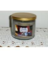 White Barn Vanilla Firewood 3 Wick Candle 14.5 oz Jar 3288K3A1 HTF - $69.00