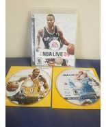 PS3 Game Bundle: NBA Live 09 PS3 Playstation Game w/ 2 NBA Live Games - $11.88