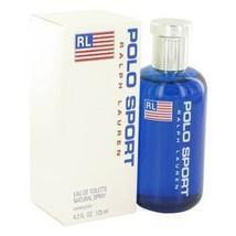 Polo Sport Cologne By Ralph Lauren 4.2 oz Eau De Toilette Spray For Men - $75.85
