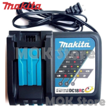 Makita DC18RC 7.2-18V (220V) Lithium-Ion Rapid Optimum Battery Charger (DC18RA) image 2
