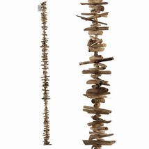 World Buyers Driftwood Garland Wide-Driftwood Pieces are All Crafted of ... - $45.92