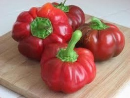 25 Sweet Pimento Pepper Seeds Heirloom 2019 ( Non-Gmo Free Shipping! ) - $5.12
