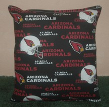 Cardinals Pillow Arizona Cardinals Pillow NFL Pillow HANDMADE In USA - $9.97