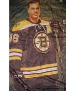 "Boston Bruins David Krejci #46 NHL 1924 TD Bank Promotion Wall Hanger 78"" x 62"""