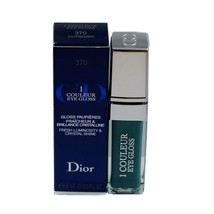 DIOR 1 COULEUR EYE GLOSS FRESH LUMINOSITY & CRYSTAL SHINE 6ML #370 OUTRE... - $37.13