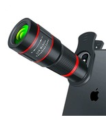 Telescope Phone Camera 20X Zoom 4K For IPhone Mobile HD Monocular Teleph... - $32.66