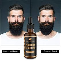 Naturenics Premium Beard Oil & Balm Wax Unscented Kit- Made with 100% Pure, Orga image 9