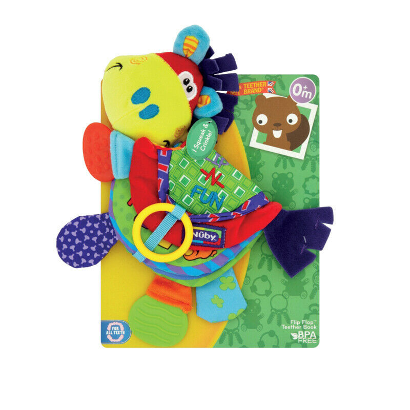 Primary image for Nuby Flip Flop Teether Book